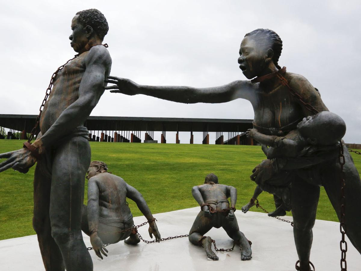 Photos: A look inside the new lynching memorial that opens Thursday in Montgomery
