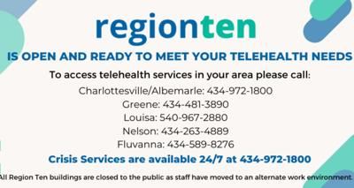 Region Ten telehealth services