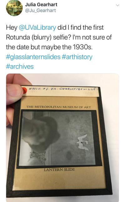 First UVa selfie?