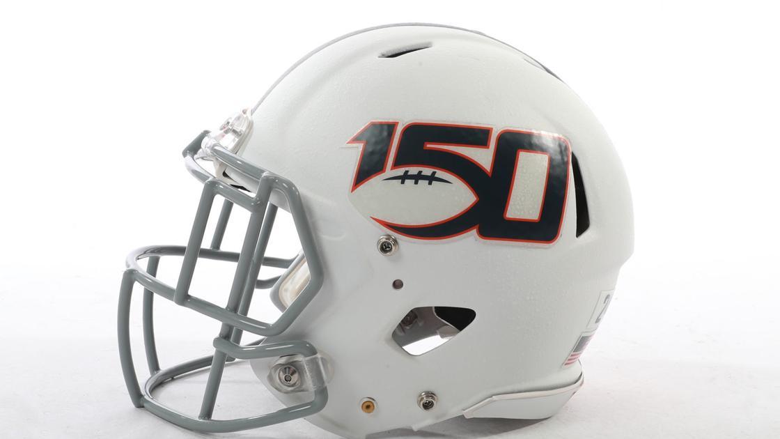Virginia reveals special helmet decal for game against Duke
