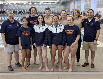 Super swimmers: Orange wins final regular season meet, competes at Region