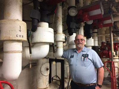 A problem solver: Mendell is a maintenance master for O.C. Schools