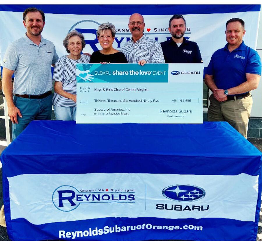 Reynolds Subaru donates to Boys and Girls Club_1