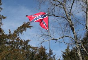 Permit issued to reduce height of Louisa County Confederate flag