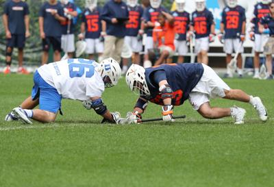 Virginia's LaSalla to face nation's top faceoff man in Yale's Ierlan