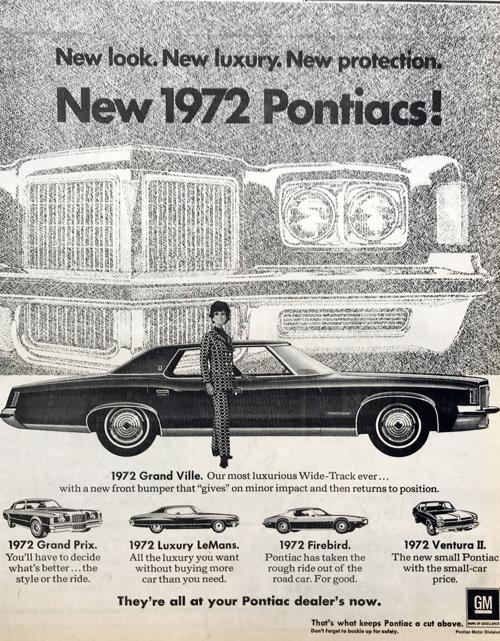 IHBNR: Sept. 23, 1971 (new car models)