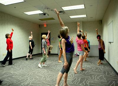 Bollywood Dance at Greene Library