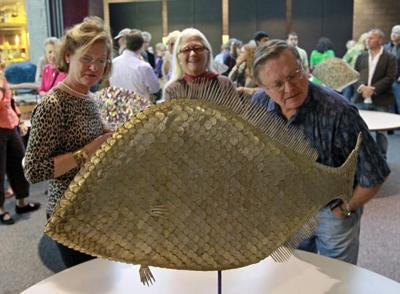 Artist scales new territory with unique fish art | News