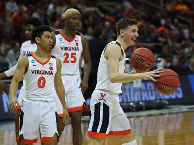 29105a456d5 Virginia s Kyle Guy set to face former AAU teammate Ryan Cline in ...