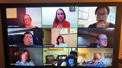 Virtual Albemarle School Board meeting