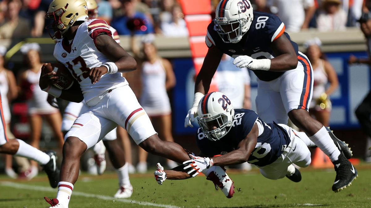 Virginia drops chance to become bowl eligible against Boston College