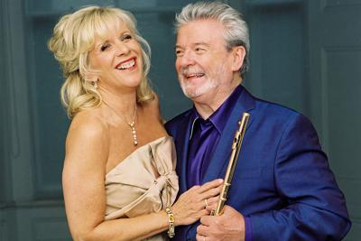 Lady Jeanne Galway and Sir James Galway