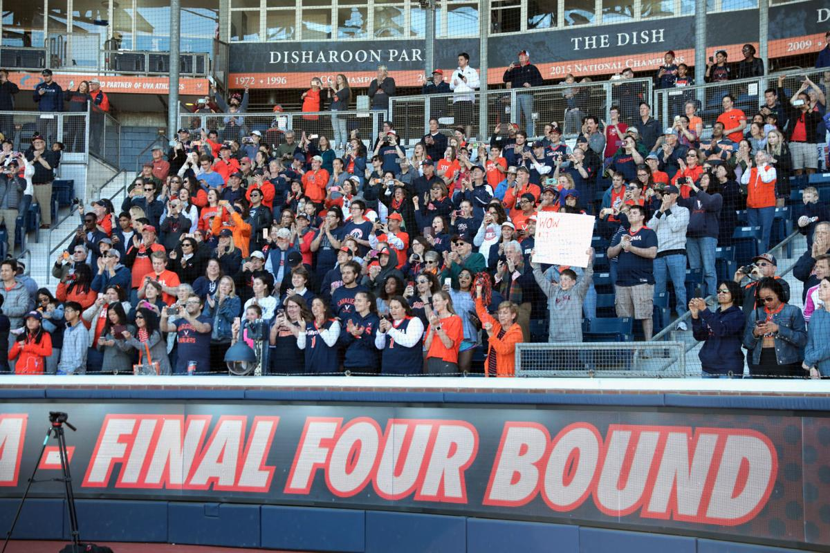 Photos: Virginia men's basketball team welcomed home