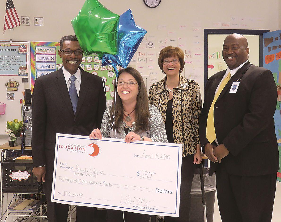 Prize Patrol surprises school staff with teaching grants