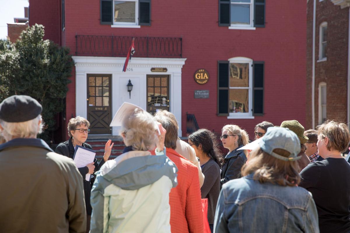 Jewish history ubiquitous downtown
