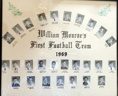 William Monroe celebrates 50 years of football