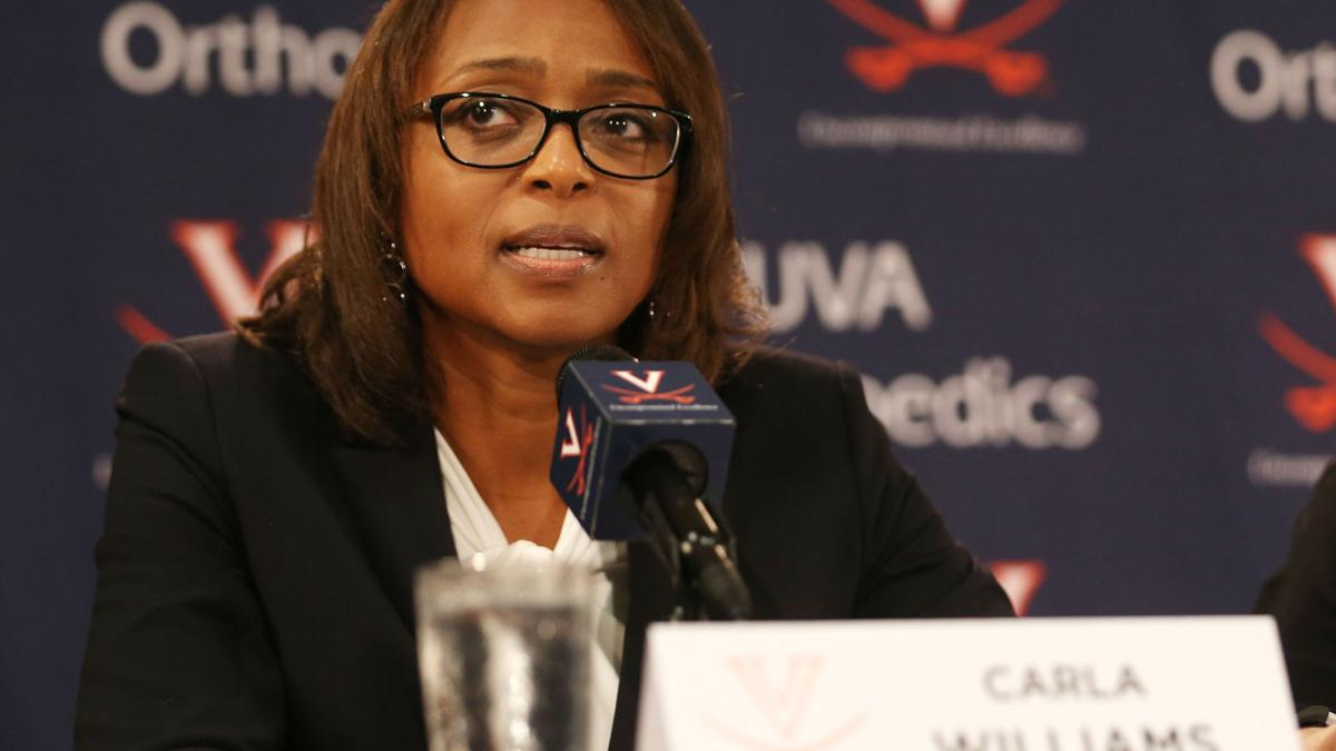 Carla Williams introduced as new athletic director at University of Virginia