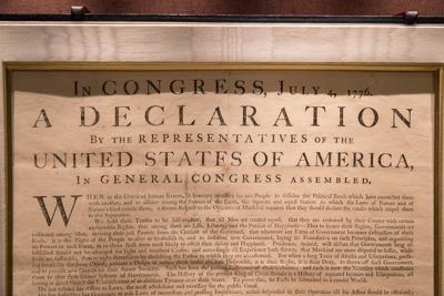 UVA Declaration of Independence