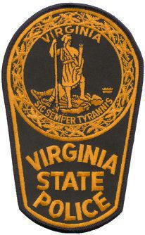 Virginia State Police badge patch logo generic
