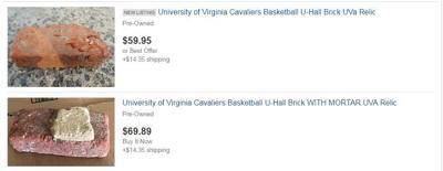 U-Hall bricks being sold online