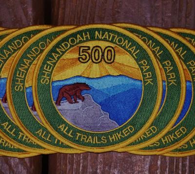 SNP 500 Mile Club patch