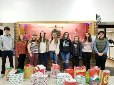 WMHS students play secret Santa for seniors