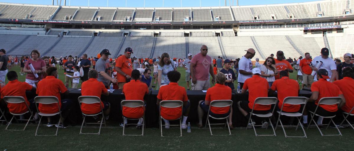 uva football meet the team 2012
