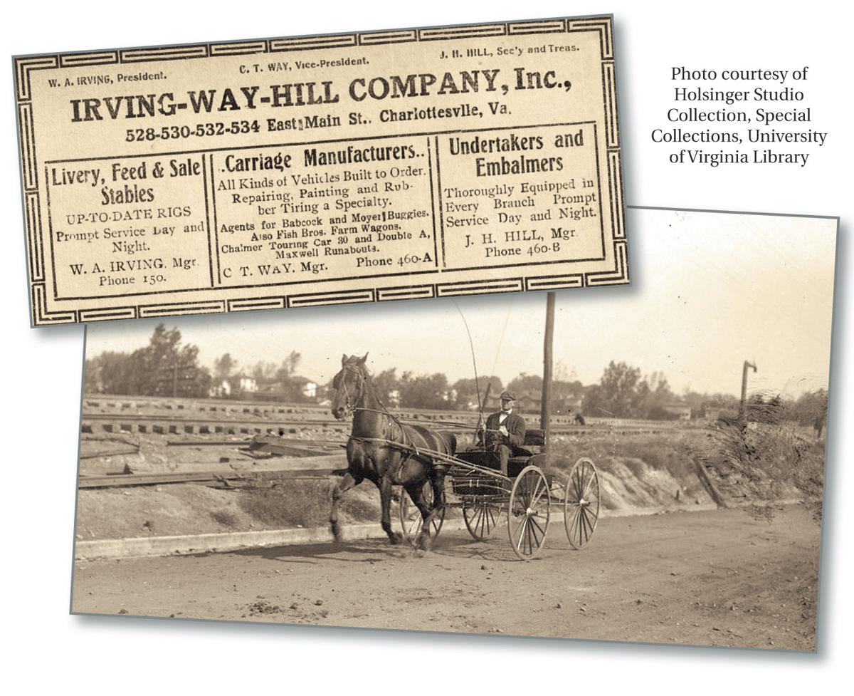 Irving Way Hill Company preceded today\'s Charlottesville\'s Hill ...