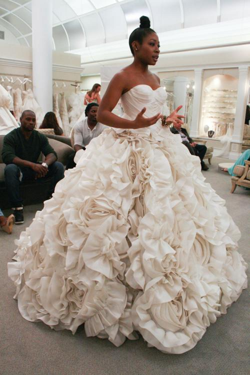 Katrice jones say yes to the dress on tlc for Wedding dresses charlottesville va