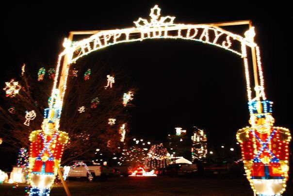 ruckersville lights display returning