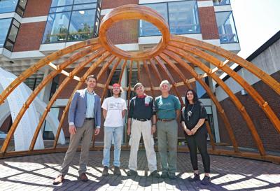 Uva Team Recreates Jeffersons Beautiful Simple Rotunda Dome