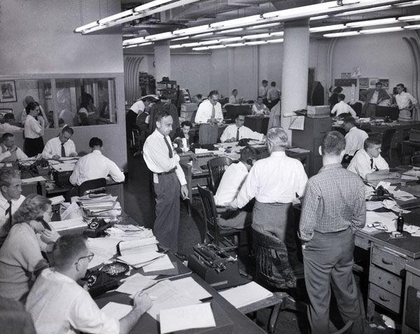 Times-Dispatch building - historic