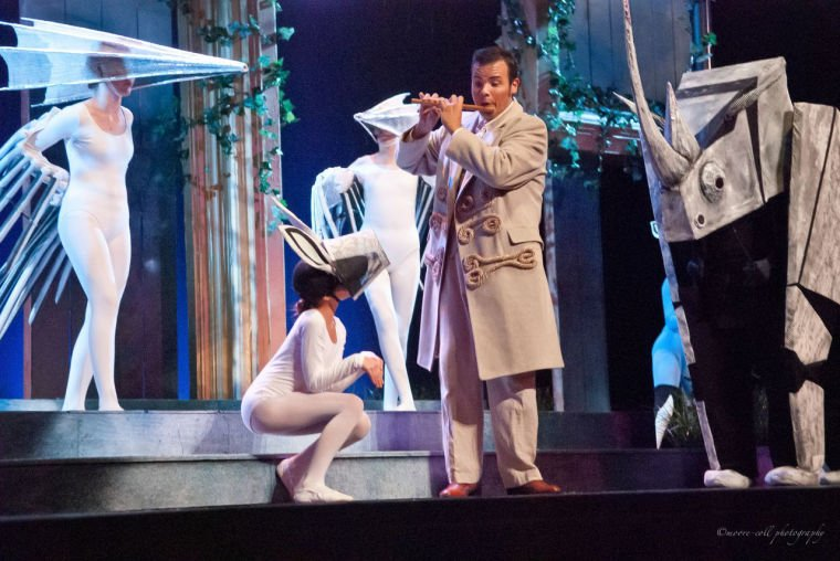 Theater Review Ash Lawn Operas The Magic Flute Entertainment