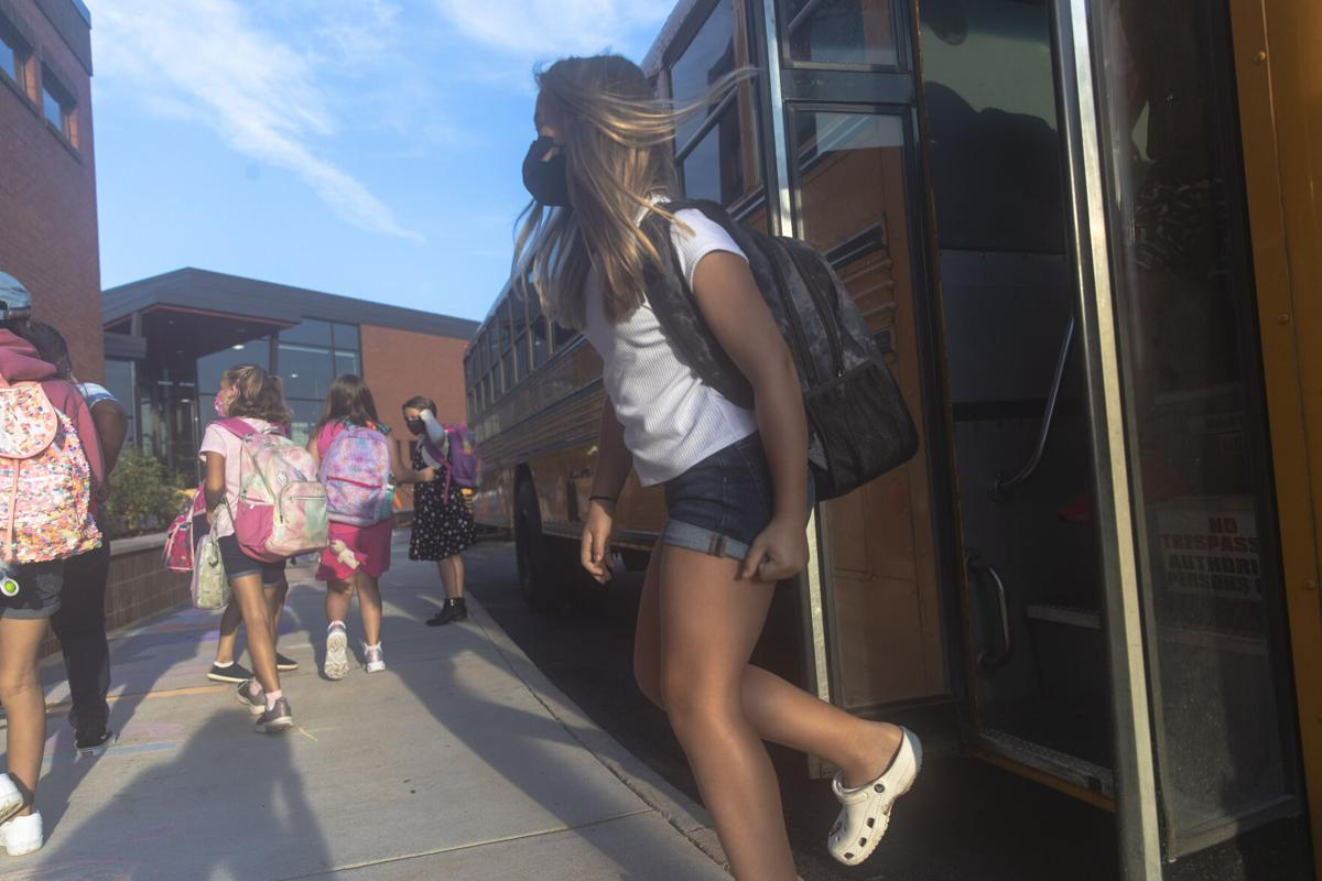 First day of school at Scottsville Elementary