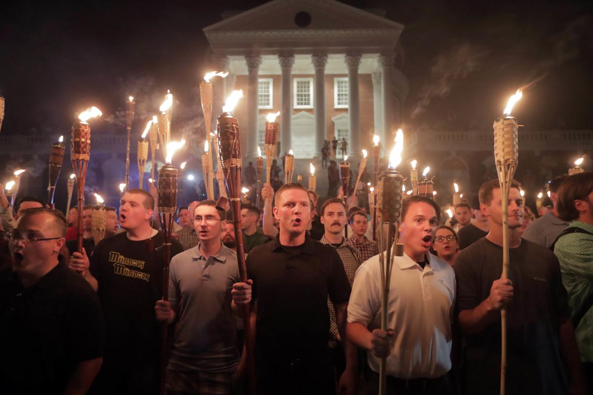 Torch march at UVa