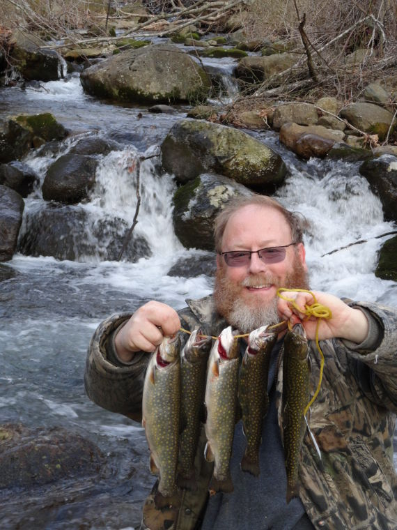 Trout stocking underway virginia outdoor weekly for Trout fishing va