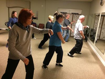 The ancient martial art of tai chi