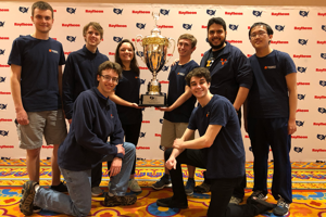 In its first competition, UVa Cyber Defense club team places first