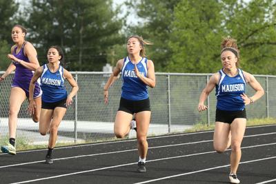 Girls relay team