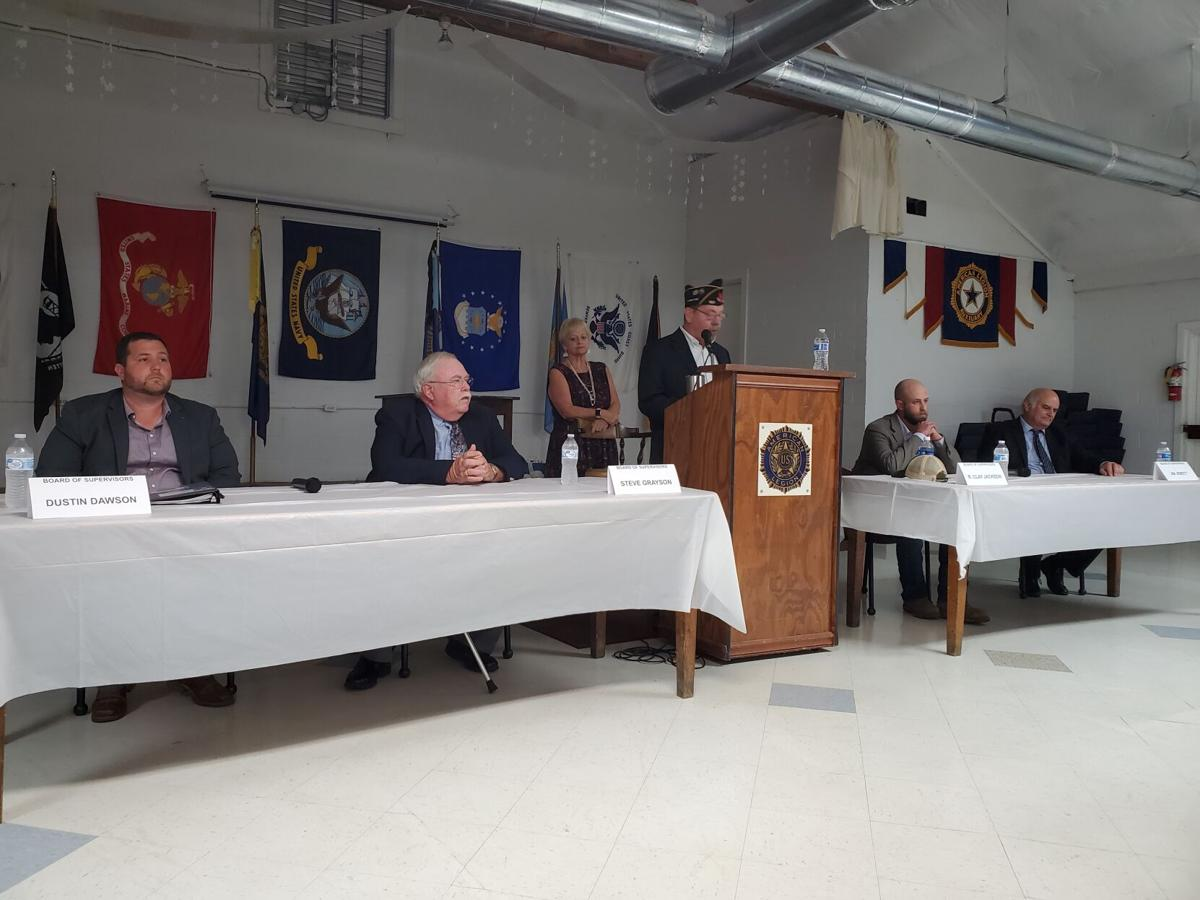 Candidate forum-BOS
