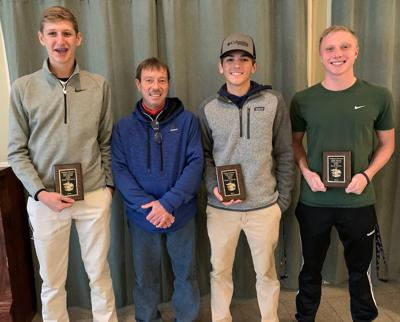 WMHS golfers honored at awards banquet