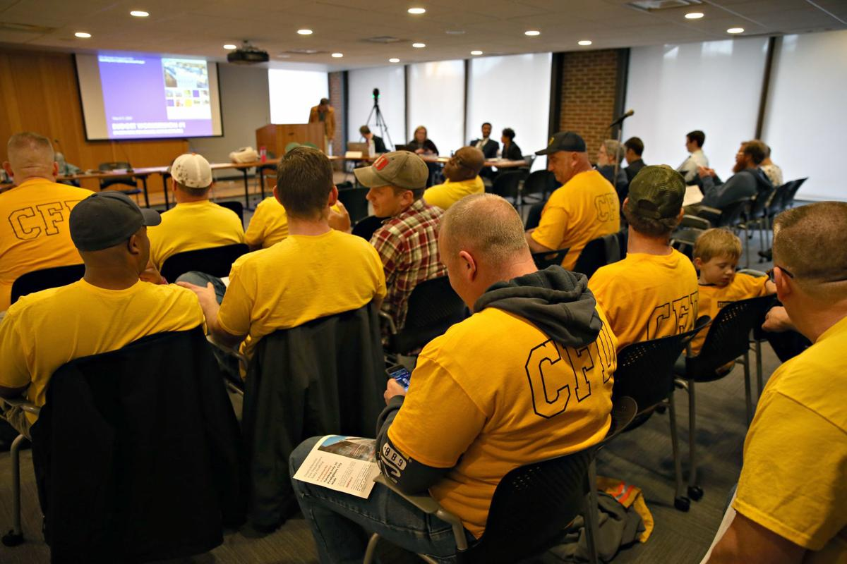 City Council budget work session