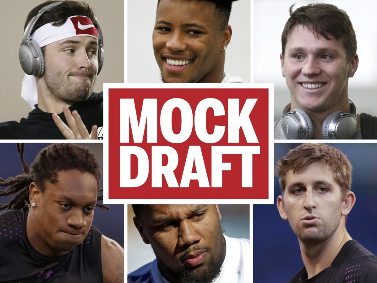 2018 NFL Mock Draft: Who will go where in the first round?