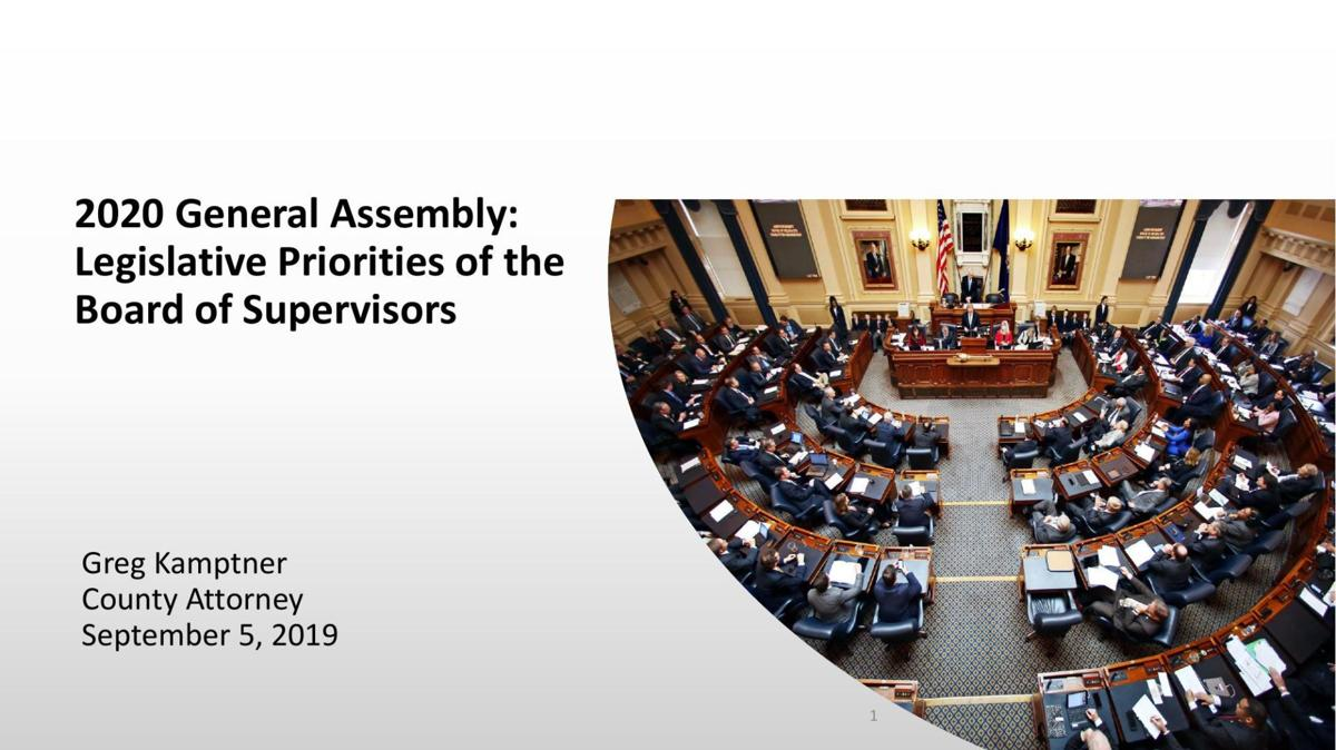 2020 Albemarle Legislative Priorities