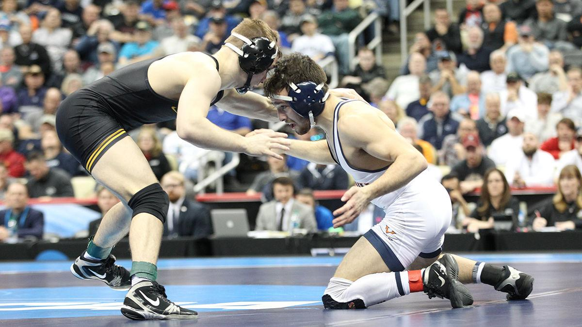Virginia wrestler Jack Mueller finishes second at NCAA