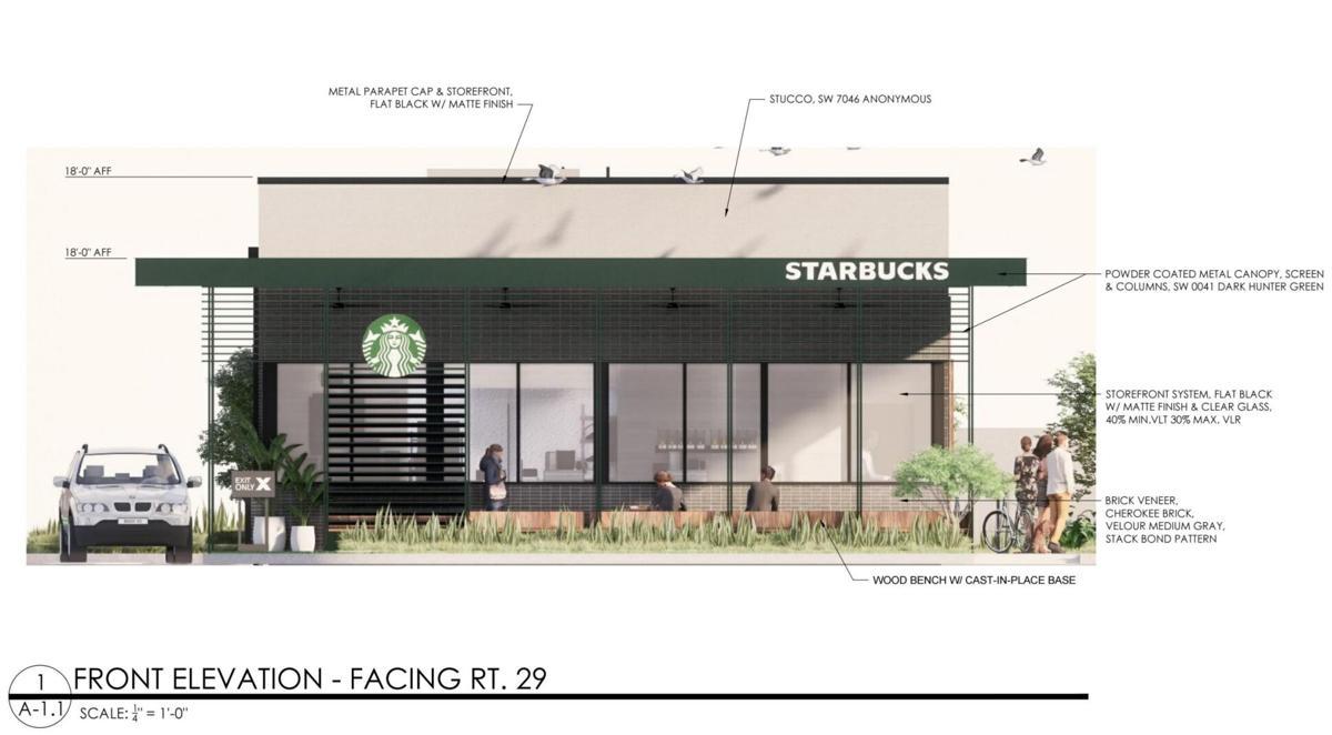 Proposed new Starbucks