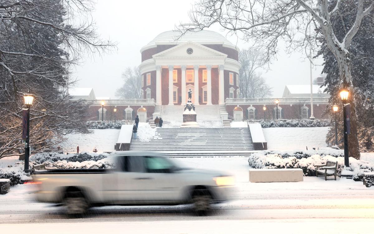 Snow at UVa