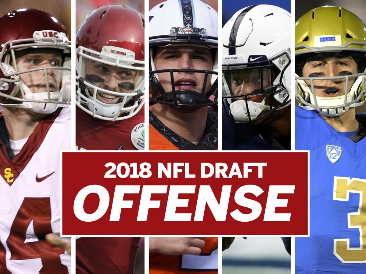 Top 50 offensive prospects in the 2018 NFL Draft