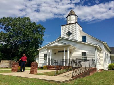 Pastor Robert Anthony of Blue Run Baptist Church, Barboursville