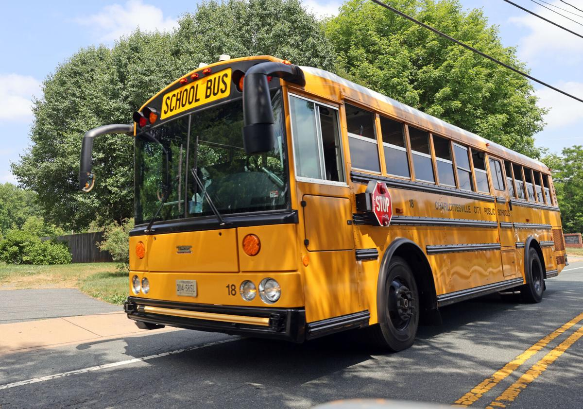 Charlottesville school bus